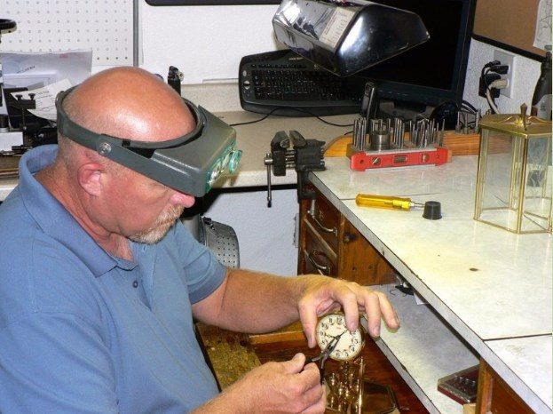 Repairing clocks