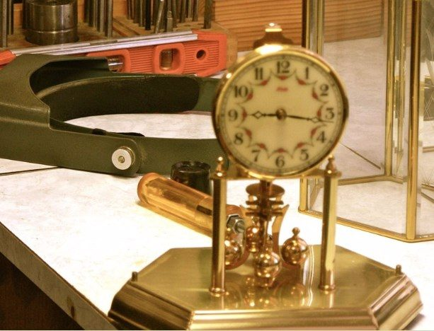 Torsion clock repairs