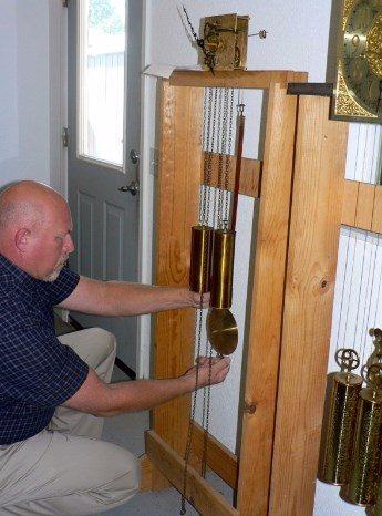 Repairing clock pendulums